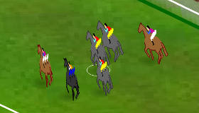 Virtual Racetrack Horse Riding