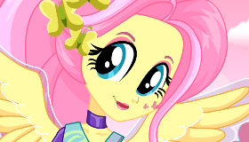 Equestria Girls Fluttershy Fashion