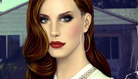 True Makeup Lana del Rey