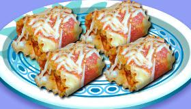 Sara's Cooking Class: Lasagna Roll Ups
