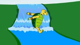 Tortoise Long Jump