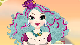 Ever After High Game Dress Up Madeline Hatter