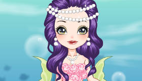 Mermaid Queen Dress Up