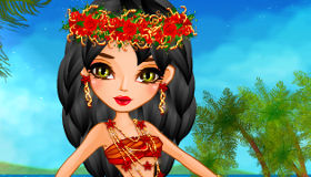 Dress Up Princess Moana