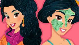 Princess Jasmine Modern Makeover
