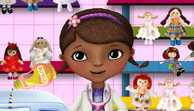 Laundry with Doc McStuffins