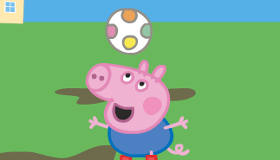 George Pig Keepy Uppy