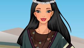 Pocahontas Today Dress Up