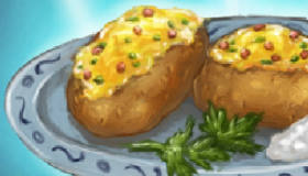 Baked Potato Cooking