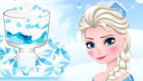 Frozen Dessert with Elsa