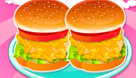 Kids' Hamburgers for Summer