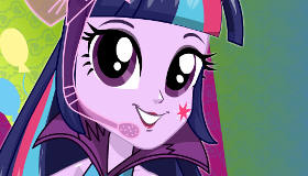 Equestria Girls Dress Up Twilight Sparkle