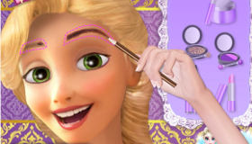 Rapunzel Wedding Make-Up
