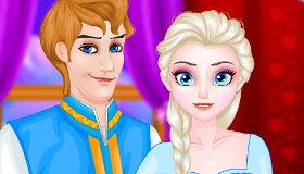 Elsa and Anna Dress Up