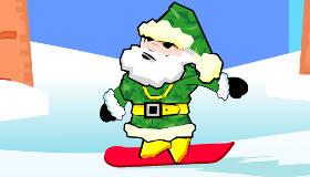Santa Snowboard Adventure