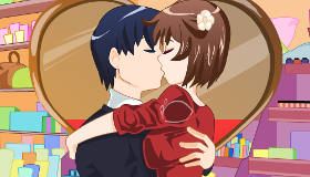 Secret Kissing Couple