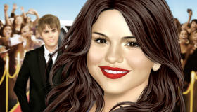 Selena Gomez Makeover with Justin Bieber
