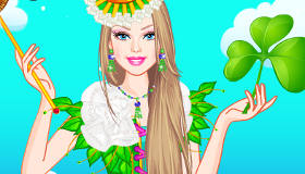 Barbie Shamrock Celebration Dress Up