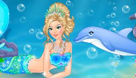 Mermaid Dress up for Girls