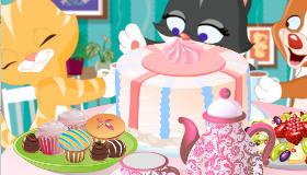 Kitten's Tea Party