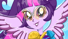Equestria Girl Twilight Dress Up