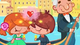 Kisses in Venice