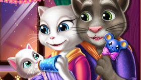 Tom and Angela Baby Kitten